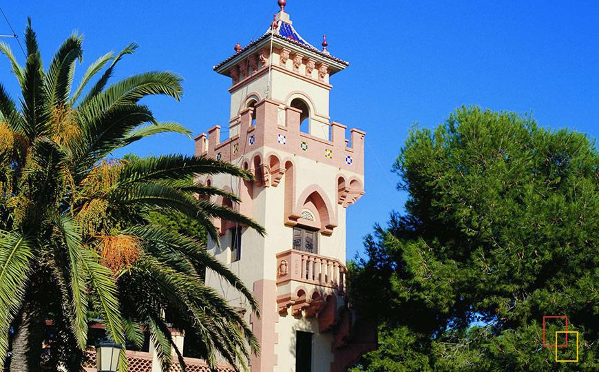 Torre hotel Voramar