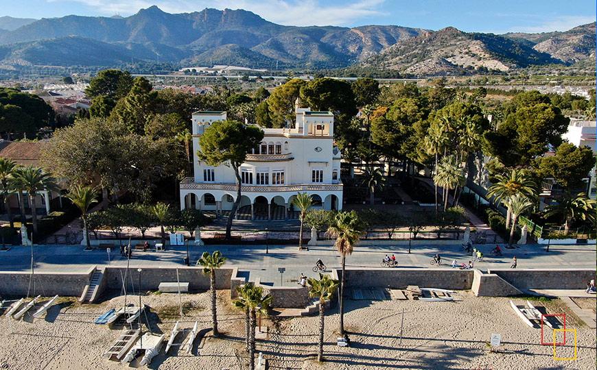Villa Elisa - Biarrit Valenciano - Ruta de las Villas en Benicàssim